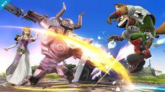 Zelda and Phantom vs Fox - Super Smash Bros, Wii U