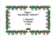 Mariaslekrum - Illustrerade frågeslingor. Christmas Crafts, Christmas Ornaments, Teaching Materials, Mandala Art, Crafts For Kids, Preschool, Education, Creative, Inspiration