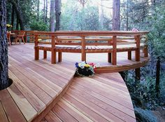 OUTSIDE DECKS | Traditions Redwood Decking