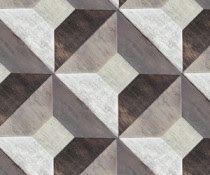 Illusion Hand-Painted Wood Tile, $22, Mirth Studio