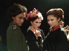 "Backstage Desfile ""Let them eat cake"" del diseñador Mexicano Noé Roa"