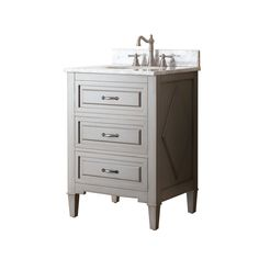 FREE SHIPPING! Shop Wayfair for Avanity Kelly 25 Single Bathroom Vanity Set - Great Deals on all Home Improvement products with the best selection to choose from!