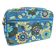 Retro Flower Power Mod Small Suitcase Made by worldvintagefashion