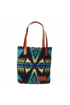 Turquoise Tote.