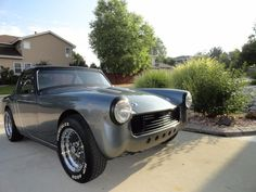 1973 MG Midget Conversion Medium Gray Metallic Mike B My Dream Car, Dream Cars, Mike B, Mg Mgb, Austin Healey Sprite, Mg Midget, Radiator Cap, British Sports Cars, Online Cars