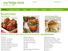 MyFridgeFood - Easy recipes using what's already in your kitchen!