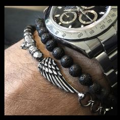 bracelet infinity nike and skull silver luxury man made in Italy limited edition designed Alessandro Magrino http://shop.mariacristinasterling.it