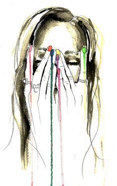 When creativity flows...