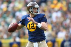 Aaron Rodgers - ACME Packers Throwback Uniform Nfc North 10924eb0e