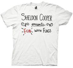 Big Bang Theory Sheldon Cooper Fun with Flags T-shirt -@- http://geekarmory.com/big-bang-theory-sheldon-cooper-fun-flags-t-shirt/
