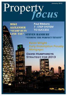 "January 2013 issue of ""Property Focus"" http://www.easypropertysolutions.co.uk/newsletter/EPSJan13.pdf"