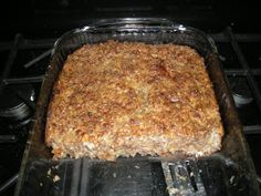 SPECIAL K LOAF ½ cup Margarine or butter 1 cup Onions, minced 1 cup Pecans, chopped, may use half pe. Vegetarian Meatloaf, Vegetarian Recipes Dinner, Vegan Recipes, Snack Recipes, Cooking Recipes, Vegetarian Food, Vegetarian Casserole, Vegan Meals, Crockpot Recipes