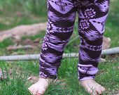 Baby Moccasins Leggings and Slouch Beanies by SweetLucyJack