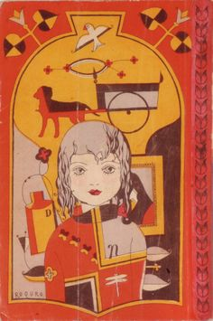Japanese book cover, 1929