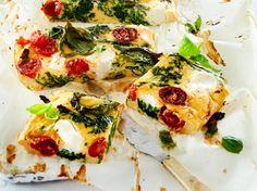 Unser beliebtes Rezept für Ofenfrittata mit Spinat und Ricotta und mehr als 55.000 weitere kostenlose Rezepte auf LECKER.de.