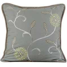 Haven Embroidered Pillow