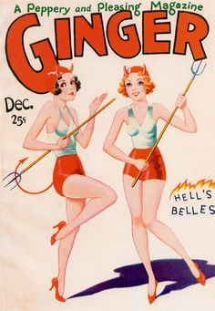 """Aw man. My college project was about starting a magazine called """"Ginger."""" Looks like it wasn't a new idea, after all."""
