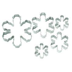 Snowflake Cookie Cutters Pk 4 - Cookie Cutters - Buy Online