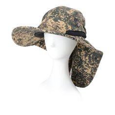 4ae414890e1 Camo Fisherman Hat Sunscreen Quick-drying Summer Hat Fishing Bucket Hat  Camping Hunting Jungle Cap Outdoor Hats Camping Cap Quick-drying Summer Hat  Outdoor ...