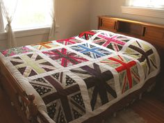 Need one of these union jack quilts