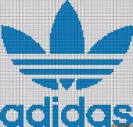Diy Crafts - -Alpha friendship bracelet pattern 10078 added by adidas shoes logo store. Small Cross Stitch, Cross Stitch Designs, Cross Stitch Patterns, Beading Patterns, Knitting Patterns, Crochet Patterns, Friendship Bracelet Patterns, Friendship Bracelets, Modele Pixel Art