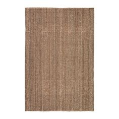 IKEA LOHALS Rug, flatwoven Natural 160 x 230 cm Jute is a durable and recyclable material with natural colour variations.
