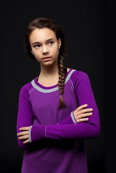 cozy knit is breathable + keeps you warm.   Practice Ready LS Tee  limited 1d9d7f602585