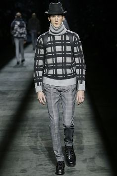 Catwalk photos and all the looks from Brioni Autumn/Winter 2016-17 Menswear Milan Fashion Week