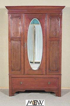 english antique armoire antique renaissance antique english inlaid mahogany armoire wardrobe closet mirror c1905 j10 ebay1039 93 best furniturearmoires images furniture