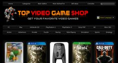 Huge 17,000+ Popular Video Games shopping portal http://www.TopVideoGameShop.com . 100% Automated Amazon Income. Enjoy !