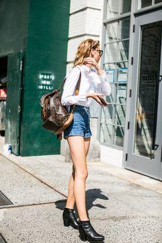 Street style à la Fashion Week printemps-été 2017 de New York
