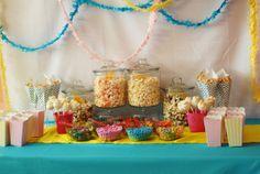 Popcorn Bar Table
