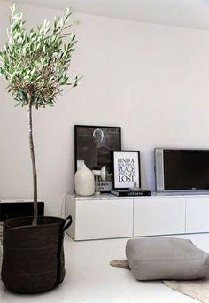 8x wit tv-meubel inspiratie