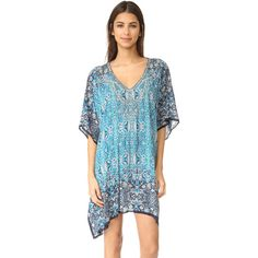 2f75925faa Parker Parker Beach Playa Cover Up ($198) ❤ liked on Polyvore featuring  swimwear and