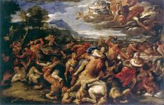 Μάχη μεταξύ Λαπιθών και των Κενταύρων 1688