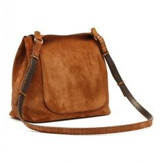 Suede sideby bag (11.055 RUB) ❤ liked on Polyvore featuring bags, handbags, brown suede handbag, brown suede purse, suede leather handbags, brown handbags and suede purse