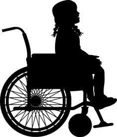 Wheelchair, Girl, Child, Kid Free Pictures, Free Images, Make A Donation, Character Design References, Children, Kids, Silhouette, Artist, Cricut Ideas