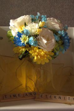 Scrabble Tiles for Wedding Decorating