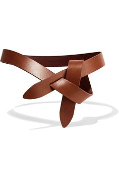 ÉTOILE ISABEL MARANT Leather waist belt $125.00 www.net-a-porter.... Women's Belts - http://amzn.to/2id8d5j
