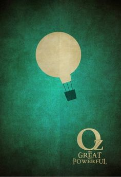Oz the Great and Powerful (2013) ~ Minimal Movie Poster by Zoki Cardula #amusementphile