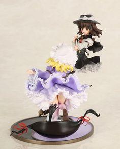 Touhou Project Hifuu Club Renko Usami & Maribel Hearn Non-Scale Figure 5