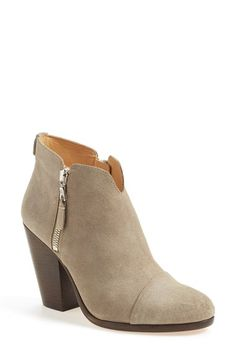 Free shipping and returns on rag & bone 'Margot' Bootie (Women) at Nordstrom.com. A blocky, architectural heel grounds a chic bootie styled with a rounded cap toe.