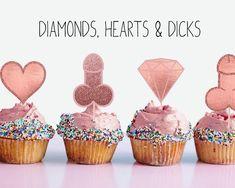 Bachelorette Desserts, Bachelorette Party Cupcakes, Bachelorette Party Checklist, Bachlorette Party, Bachelorette Party Decorations, Cupcake Party, Bachelorette Sash, Cupcake Toppers, Rose Gold