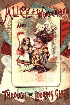 Classic Book Cover - Alice In Wonderland