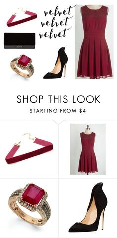 """Untitled #52"" by tenuunl ❤ liked on Polyvore featuring Effy Jewelry and Balmain"