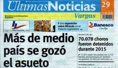 Últimas Noticias Vargas martes 29  de marzo de  2016