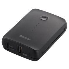 <br>バッファロー スマートフォン/タブレット用モバイルバッテリー BSMPB06BK (ブラック)