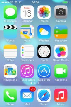 iOS 7 :-)