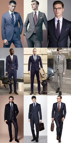 Classic Interview Attire - If in doubt, wear a suit