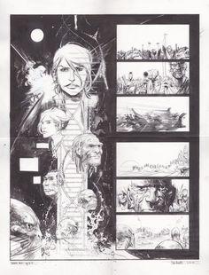 The Wake #10 par Sean Gordon Murphy, Scott Snyder - Planche originale